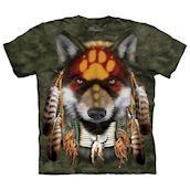 Native Wolf Spirit t-shirt