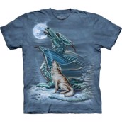 Dragon Wolf Moon t-shirt