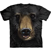 Black Bear Face t-shirt