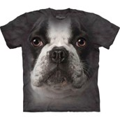 French Bulldog face t-shirt