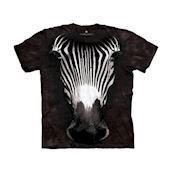Big Face Grevys Zebra t-shirt