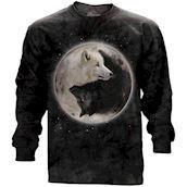 Yin Yang Wolves long sleeve