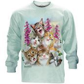 Kittens Selfie long sleeve