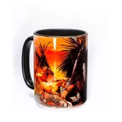 Indian Collage Ceramic mug