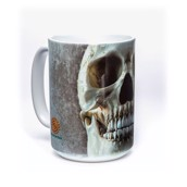 Big Face Skull Ceramic mug
