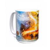 Magic Squirrels Ceramic mug