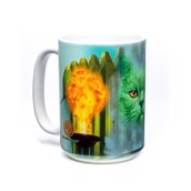 Cat the Great and Powerful Ceramic mug