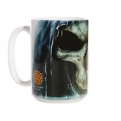 Big Face Death Ceramic mug