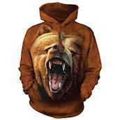Grizzly Growl Adult Hoodie