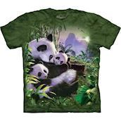 Panda Cuddle t-shirt