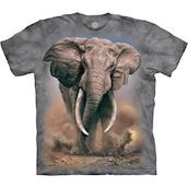 African Elephant t-shirt, Adult Large