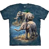 Asian Elephants t-shirt