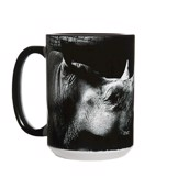 Be My Voice Rhino Ceramic mug