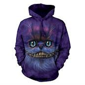 Big Face Cheshire Cat Adult Hoodie