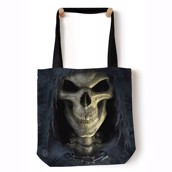 Big Face Death Tote Bag