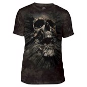 Breakthrough Skull Mens Triblend Tee