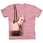 Handbag Chihuahua t-shirt, Child Large