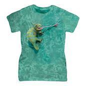 Climbing Chamelion ladies t-shirt