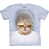 Cool Hipster Cat t-shirt