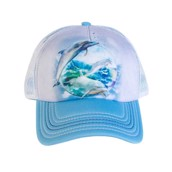 Dolphin Bubble Trucker Cap