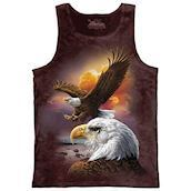 Eagle and Clouds tank top