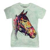 Funky Horse ladies t-shirt