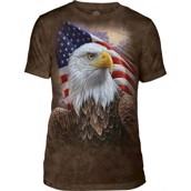 Independence Eagle Mens Triblend Tee