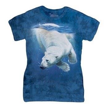 Polar Bear Dive ladies t-shirt