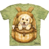 Puppy Backpack t-shirt
