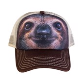 Sloth Face Trucker Cap