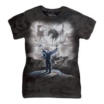 Summoning the Storm ladies t-shirt