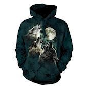 Three Wolf Moon Adult Hoodie
