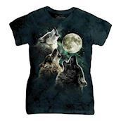 Three Wolf Moon ladies t-shirt