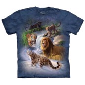 Global Big Cats t-shirt