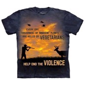 Violence Outdoor t-shirt