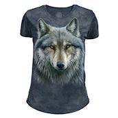 Warrior Wolf Tri-Blend T-shirts