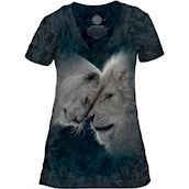 White Lion Love Tri-Blend T-shirts