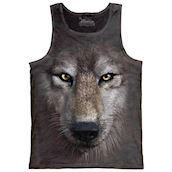 Wolf face tank top