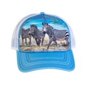 Zebra Gathering Trucker Cap