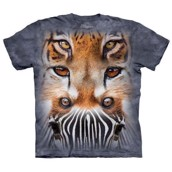 Zoo Face Totem t-shirt